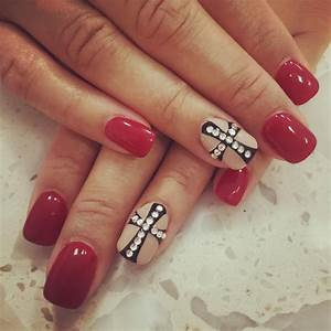 29+ Cross Nail Art Designs, Ideas | Design Trends ...