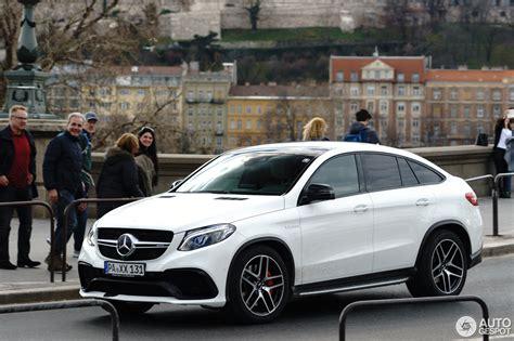 It's the ceo that takes no prisoners. Mercedes-AMG GLE 63 S Coupé - 16 March 2018 - Autogespot