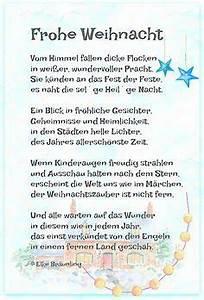Weihnachtsgedichte Kinder Alt : frohe weihnacht gedicht weihnachten frohe weihnacht und ~ Haus.voiturepedia.club Haus und Dekorationen