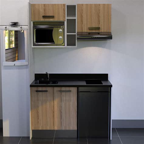 kitchenette  cm avec etagere emplacement hotte micro