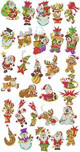 Free Christmas Machine Embroidery Designs Fun Christmas Pals Machine Embroidery Designs By Sew Swell