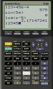 Graphing Calculator Emulator Online Free  ti 83 online