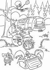 Coloring Kelp Forest Rainforest Temperate Getcolorings Printable sketch template