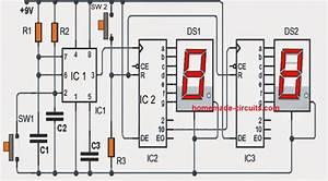 0 99 Counter Circuit Diagram