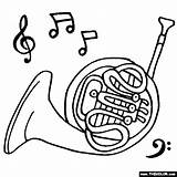 Horn French Coloring Horns Instruments Musical Pages Drawing Instrument Ram Piccolo Colouring Thecolor Brass Clip Them Getdrawings Library Drawings Rams sketch template