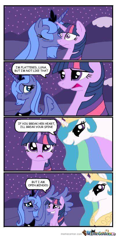 Mlp Luna Meme - i m flattered luna by serkan meme center