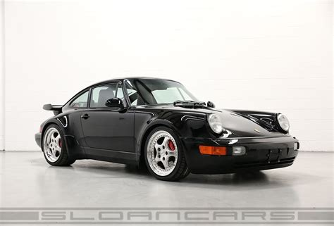 porsche   turbo blackblackred  miles