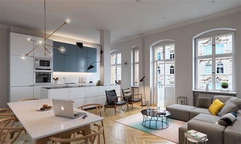 cuisine ouverte sur salon petit espace amnagement cuisine ouverte salon beautiful coins salle