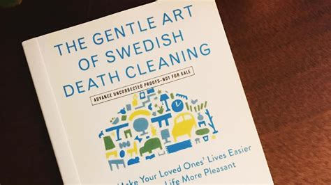 It's Time To Start Döstädning (aka Swedish Death Cleaning