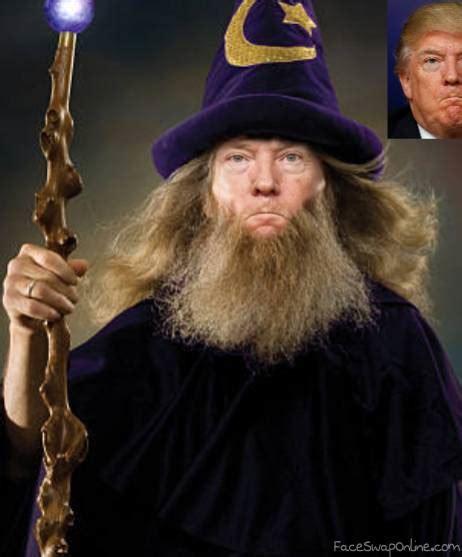 wizard trump face swap