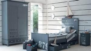 Decoration Chambre Style Marin : inspiration chambre fille marine ~ Zukunftsfamilie.com Idées de Décoration