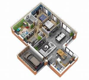 Nice Plan Maison Interieur Moderne That You Must Know  You