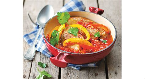 lidl recettes de cuisine recette poulet basquaise