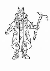 Fortnite Coloring Pages Printable Drift Battle Royale Pdf Craft Marshmallow Head sketch template
