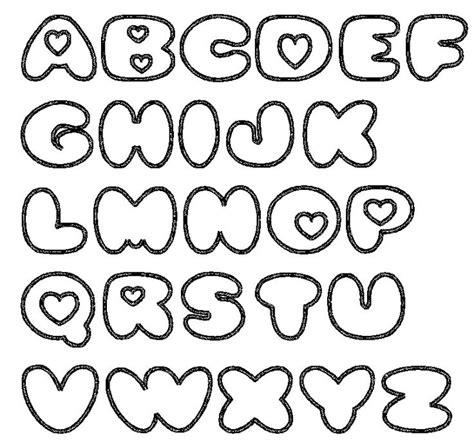 letras moldes pinterest fonts