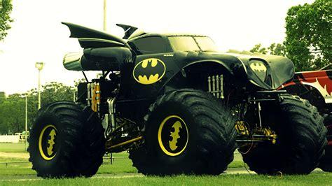batman monster truck videos monster truck batman truck monster trucks for real