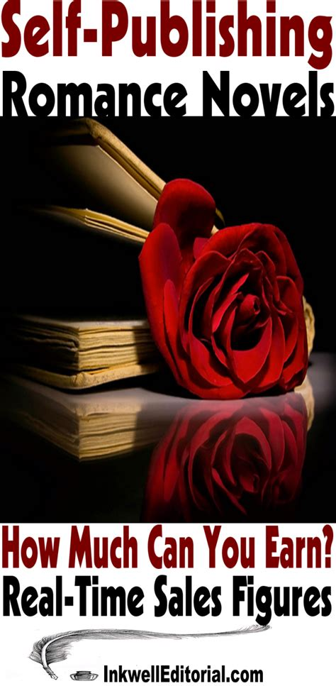 self publishing romance how much you can earn real time