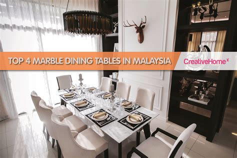 top  marble dining tables  malaysia malaysias