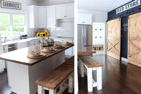 farmhouse kitchen design ideas gorgeous modern farmhouse kitchens 7149
