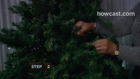 how to make a fake tree look like a real one youtube