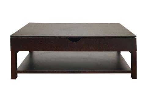 table basse weng 233 avec plateau relevable table basse pas cher