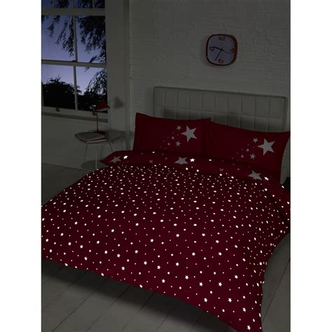 glow in the duvet set pink bedding duvet