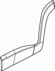 1998 Pontiac Grand Prix Door Molding  Lower   2 Door  Body