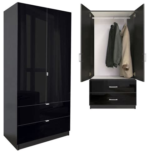 alta  drawer wardrobe armoire contempo space