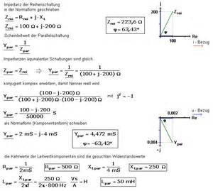 Innenwiderstand Berechnen : komplexe widerstandsberechnung und quivalente schaltungen ~ Themetempest.com Abrechnung