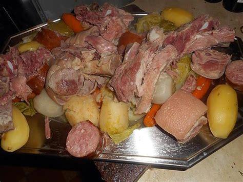 temps de cuisson potee recette de pot 233 e franc comtoise
