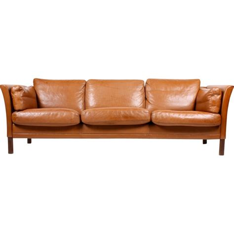 linea sofa canap canap vintage cuir marron free fauteuil vintage cornwell