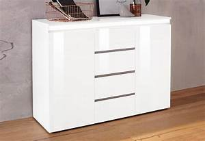 Kommode Weiß Hochglanz 120 Cm : tecnos mailand kommode breite 120 cm kaufen otto ~ Bigdaddyawards.com Haus und Dekorationen