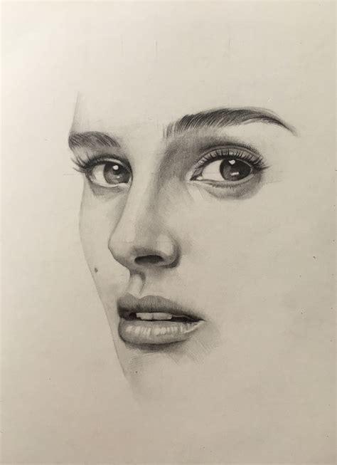 pencil portrait mastery natalie portman pencil drawing