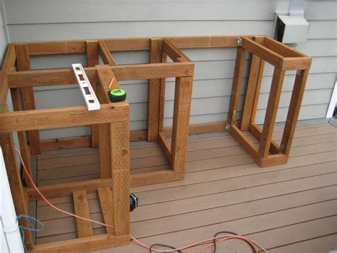 how to make built in cabinets how to build outdoor kitchen cabinets
