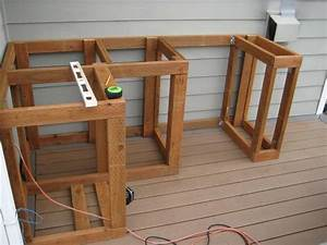 How to build outdoor kitchen cabinets for How to make your own kitchen cabinet doors