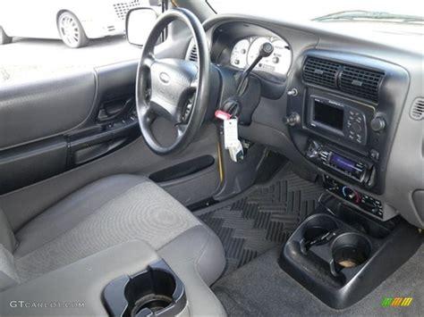 dark graphite interior  ford ranger edge supercab