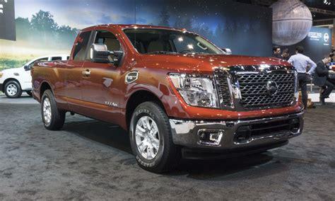 nissan tundra 2017 chicago auto show nissan titan king cab autonxt