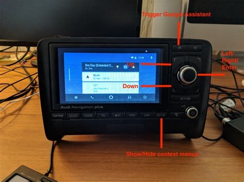 bringing android auto to audi navigation plus rns e using a raspberry pi