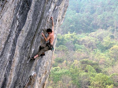File Climbing Lei Shan Yangshuo China