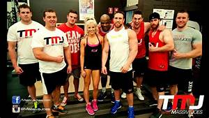 In The Gym With Team Massivejoes  U0026 Ronnie Coleman Back  U0026 Biceps 13 Mar 2014 Anytime Fitness Mile