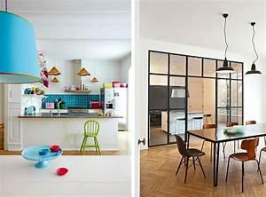 decoration salon avec cuisine ouverte fashion designs With amenager petit salon avec cuisine ouverte