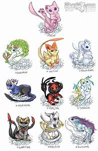 Monstah Mashup - Mew + other Legendary variations! I was ...
