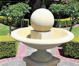 Fountain, Urn, Water, Feature