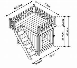 Plan Cabane En Bois Pdf : vadigran niche maison de toilette chat penthouse java ~ Melissatoandfro.com Idées de Décoration