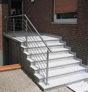 Geländer Für Treppe : treppen gel nder aus edelstahl ~ Markanthonyermac.com Haus und Dekorationen