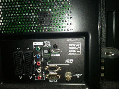 kopfhoehrer und lautsprecher  lg pk plasmatv tv