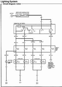 94 Honda Civic Headlight Wiring Diagram