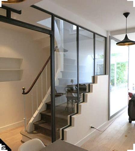 idee deco escaliers remplacer la rambarde par une