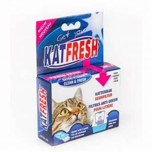 Litiere Chat Anti Odeur : katfresh filtre anti odeur liti re ~ Melissatoandfro.com Idées de Décoration