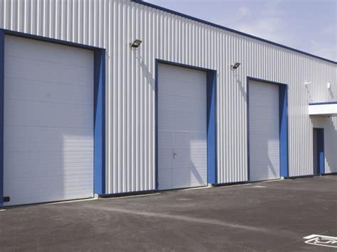 les portes sectionnelles en acier de la toulousaine
